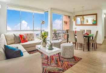 Aralia de Castilla, Apartamentos en venta en Valladolid 72m²