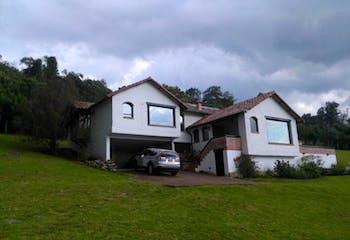Casa Campestre En Chia Vereda Yerbabuena-3 alcobas