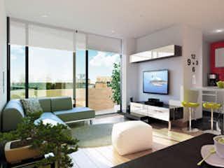 Una sala de estar llena de muebles y una televisión de pantalla plana en Milano Park