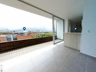 Una vista de un pasillo desde una estación de tren en Apartamento en venta en Belén Centro de 127m² con Balcón...