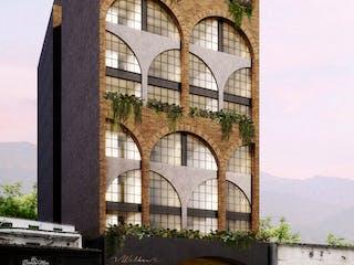 Hotel Walker, apartamentos sobre planos en El Poblado, Medellín