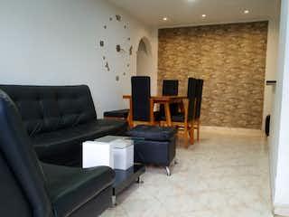 Una sala de estar llena de muebles y una chimenea en Apartamento en venta en La Floresta con acceso a Zonas húmedas
