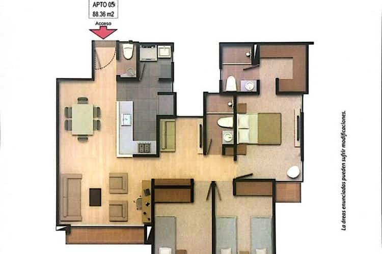 Portada Apartamento En Venta En Chia Terranova - con muy buena ubicación