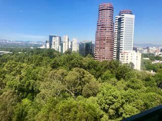 Una vista de un horizonte de la ciudad con un horizonte de la ciudad en el fondo en INCREIBLE DEPARTAMENTO EN VENTA EN POLANCO, CON ACABADOS DE LUJO