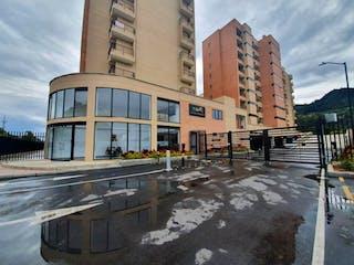 Un gran edificio con un montón de ventanas en él en Apartamento en venta en Casco Urbano Cota con Bbq...