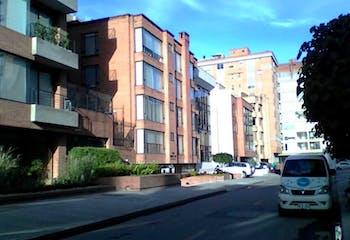 Apartamento en Bogota Chico Norte - en el piso cuarto