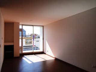 Una vista de una sala de estar con una ventana en VENDO APTO EN NICOLAS DE FEDERMAN PARA ESTRENAR