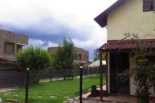 Casa lote En Venta En Cota El Abra -Sector El Hoyo, cuenta con cabaña de 2 niveles,