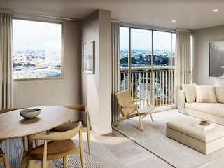 Una sala de estar llena de muebles y una ventana en Viena