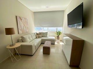 Una sala de estar llena de muebles y una televisión de pantalla plana en Departamento Venta / Renta Periodista, Manuel A. Camacho RDV475297 RDR467066