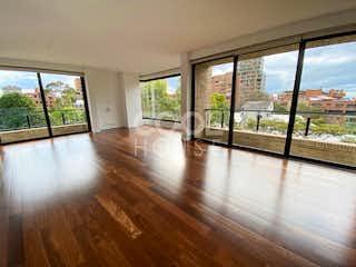 Una vista de una sala de estar y comedor en Apartamento en venta en La Cabrera