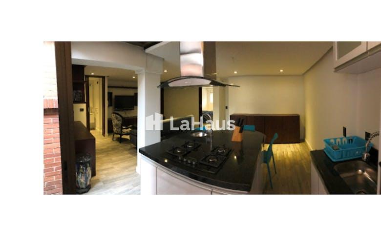 Foto 5 de Apartaestudio en Bogotá-Santa Ana, cuenta con garaje y deposito.