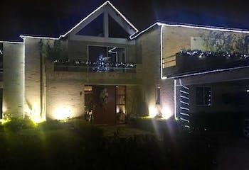 Casa Campestre en Chia Vereda La Balsa - excelentes acabados