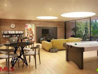 Una sala de estar llena de muebles y una mesa en Club Verde Terra