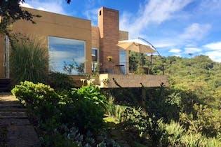 Casa Campestre en Chia Portal De Fusca - vista hacia la sabana