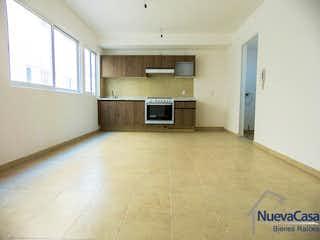 Una cocina con un gran ventanal en ella en Canela, Col. Granjas México. 1 Recámara, oportunidad de inversión