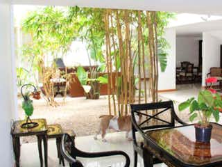 Una sala de estar llena de muebles y una planta en maceta en VENDO/ARRIENDO CASA SANTA ANA OCCIDENTAL-BTA-MJ