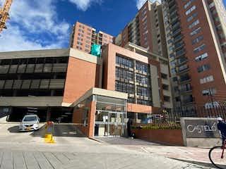 Una calle de la ciudad con un edificio y un edificio en Apartamento en venta en Castilla La Nueva de 84m² con Piscina...