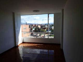 Una vista de una sala de estar con una ventana en Apartamento en venta en Villemar, de 61mtrs2