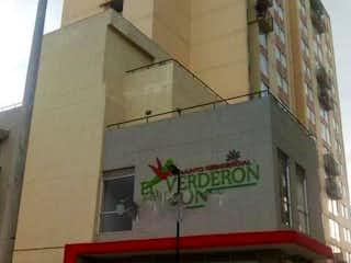 Una señal de calle que está en un edificio en Apartamento en venta en Bosa Centro con Balcón...