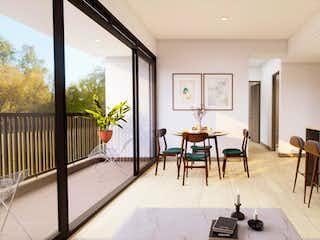 Una sala de estar llena de muebles y una mesa en Cámbulo
