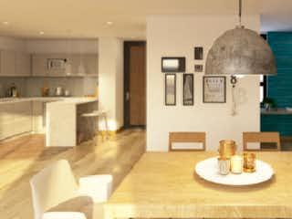 Una sala de estar llena de muebles y una lámpara de araña en CRZ-4