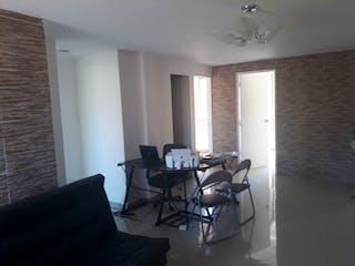 Una sala de estar llena de muebles y una ventana en Apartamento en venta en Cabañitas de 3 habitaciones