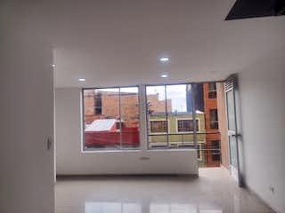 Una vista de una sala de estar desde una ventana en Apartamento en venta en Villemar de tres habitaciones