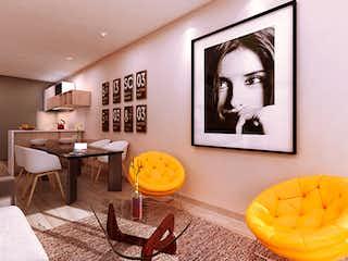 Una sala de estar llena de muebles y una pintura en Smart Living 58