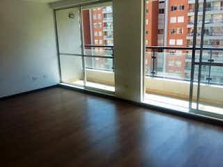 Una vista de una sala de estar con una ventana en Apartamento En Venta En Mosquera Parque Residencial Arrayan