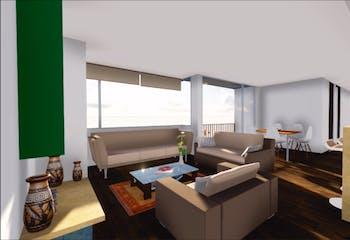 en Cajicá,Ed Urales, Apartamentos en venta en Casco Urbano Cajicá de 2-3 hab.