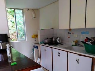 Una cocina con un fregadero y un mostrador en ella en Apartamento en venta en San Javier de 3 habitaciones