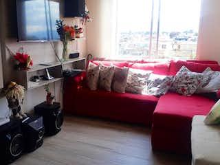 Una sala de estar llena de muebles y una ventana en Apartamento en Venta GRAN GRANADA