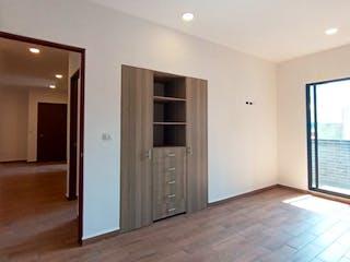 Una vista de una sala de estar y una sala de estar en DEPTOS A 5 MINUTOS DE INTERLOMAS Y SANTA FE