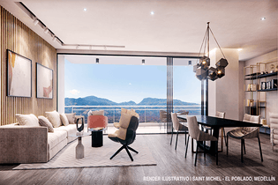 Saint Michel, Apartamentos en venta en Los Balsos de 2-3 hab.