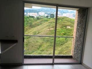 La vista de la vista desde la ventana de la casa en Apartamento en venta en Calasanz de dos habitaciones