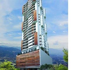 Un edificio alto con un reloj en la parte superior en Apartamento venta Sabaneta P.17 C.536737