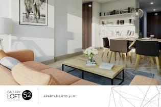 Proyecto nuevo en Gallery Loft 52, Apartamentos nuevos en Palermo con 1 habitacion