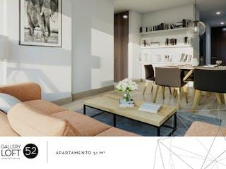 Gallery Loft 52, proyecto de vivienda nueva en Palermo, Bogotá