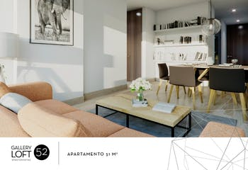 Gallery Loft 52, Apartamentos nuevos en venta en Palermo con 1 hab.