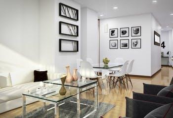 Proyecto de vivienda, Portal 502, Apartamentos en venta en Barrio Pasadena 83m²