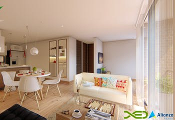 Mirador del Jardín, Apartamentos en venta en Normandía con 57m²