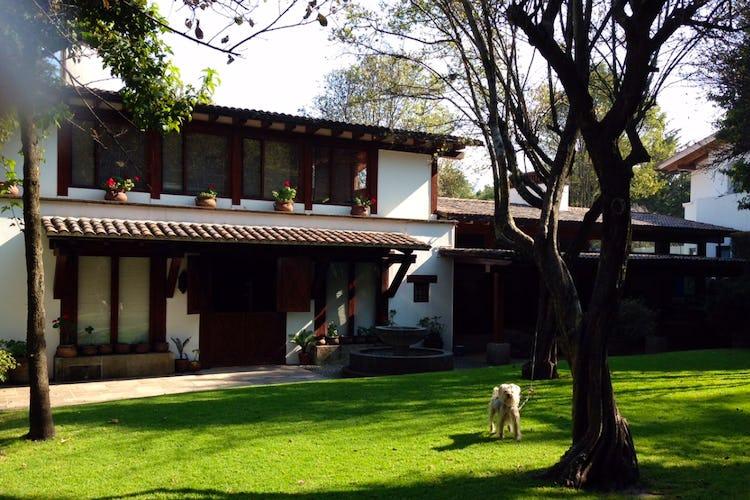 Portada Casa en Rancho San Francisco Pueblo San Bartolo Ameyalco, Álvaro Obregón
