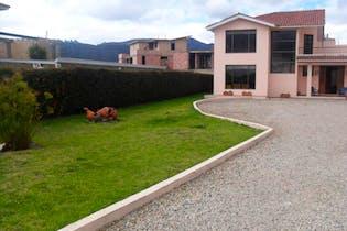 Finca en venta en Cajicá, 265m² con Solarium...