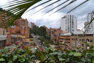 Apartamento en Bogota Los Rosales - edificio con sauna, gimnasio, piscina climatizada