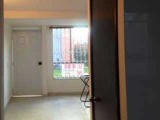 Una vista de una habitación con una puerta de cristal en Reserva de Alejandria