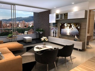 Turin Luxury, apartamentos sobre planos en Laureles, Medellín