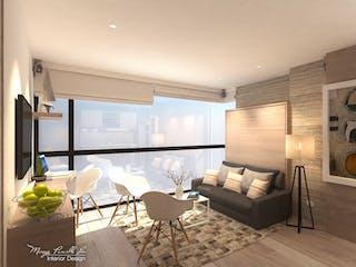Capital Lofts, apartamentos sobre planos en Santa Paula, Bogotá