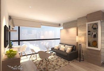 Capital Lofts, Apartamentos nuevos en venta en Santa Paula con 1 habitacion