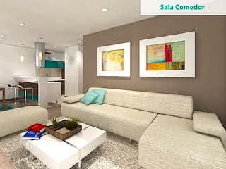 Una sala de estar llena de muebles y una televisión de pantalla plana en Torrearte